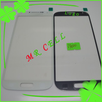 10pcs/lot Blue&White&Black for Samsung Galaxy S4 i9500 outer Glass Lens Touch Screen free shipping