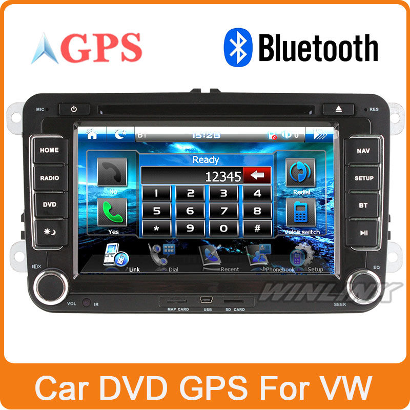 Special Car DVD GPS for VW GOLF 5 Golf 6 POLO PASSAT CC JETTA TIGUAN TOURAN EOS With Stereo Radio Blurtooth Phone(China (Mainland))