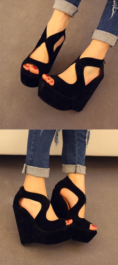 O novo 2014 coreano sandálias das mulheres(China (Mainland))