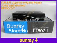 Last D6 version Sunray 800se sr4 sim a8p  Triple Tuner DVB-S/C/T D6 version Satellite  Receiver 800se free shipping sunray4