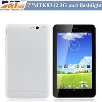 "New 7"" built-in GPS 3g phone MTK6577 dual core  tablet pc Android 4.1 512MB 4GB Dual camera Bluetooth  with Dual sim slot"