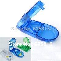 Hot Sale 5x Pill Tablet Cutter Splitter Divide Storage Medicine Cut Dose Compartment Box 60-380