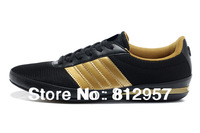 Brand Sneakers For Men 2014 New Arrival Sport Flats Canvas Fashion Casual Sports Black Gold Shoes Large Big Size 46 47