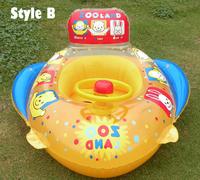 1pcs ABC High Quality Baby Swimming Pool Inflatable Seat Ring & Inflatable Float Seat For Baby Swim Free Shipping