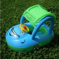1pcs Sunshade Baby Swimming Ring & Roadster Shape Kids Swimming Ring & Baby Car Swimming Item Free Shipping