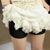 nz043  Wholesale 12 Pieces/Lot  3color  Female Slim Comfortable Ice Silk Viscose Safety Pants short leggings