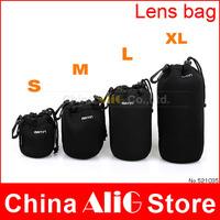 4pcs S/M/L/XL Matin Camera Bag Lens Case Bag Waterproof Bag Neoprene Soft Protector accessories