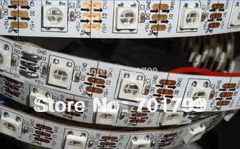 4m DC5V WS2812B led pixel srip,non-waterproof,60pcs WS2812B/M with 60pixels;white PCB,only 4PIN