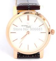 2014 new men watches classic Roman scale thin men watch quartz watch business casual fashion watch  free shipping