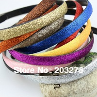 Wholesale - glitter headbands for women hairbands Alice band Hair Band Ring Rope Headwear Coiffure