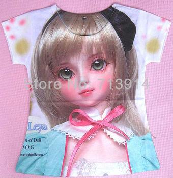 2013 new Fashion hot sale beautiful girls painting picture clothing kids t-shirts, kids cartoon t shirt K2003