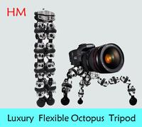 Luxury Ultra Flexible Compact OctopusTripod 1/4 Professional tripod for DV Vedio Digital Camera DSLR Camcorder Macro