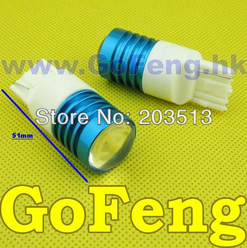 Задние поворотники GFG 10pcs/lot dc8v/30 T20 7440 7440 7 Cree HK задние поворотники gfg 10pcs lot 1156 18 smd 5630 ba15s 18smd
