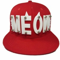Hot Fashion Hip Hop Hat Spike Dance Hat Snapback Baseball Hat For Uniex