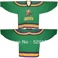 Custom Ice Hockey Mighty Ducks Of Anaheim Jerseys 1996-06 (S-4XL) - Customized Jersey With Any Number, Any Name Sewn On