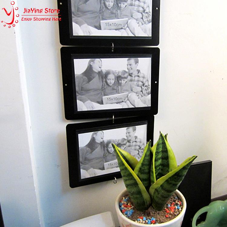 Hot Sale 6Pcs/Set Fashion Wall Frame For Photos Child Photo Frame Combination Decal DIY Picture Frame Porta Retrato Home Decor(China (Mainland))