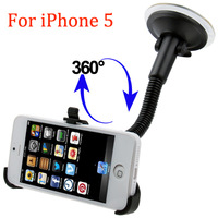 Universal  Car  Mount  Holder For  Apple iPhone 5 Cell Phone Car  Universal Holder  For Apple iPhone5 Mobile Phone