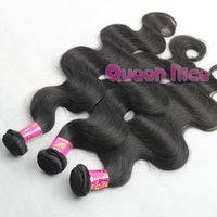 "QNice Hair Malaysian Virgin Hair Cheap Body Wave Natural Color Grade AAAAAA 5pcs 3pcs 4pcs/lot 12""-30'' Free Shipping"