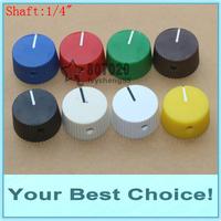 200pcs/Lot 1/4'' Shaft Effect Pedal Rotary Pointer Knob, 6.35mm Shaft Potentiometer knob (DHL Free Shipping)