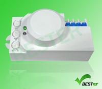 220VAC high sensitivity Microwave Switch Radar switch can replace Motion Sensor time adjustable sensor switch (BS029B)