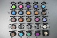 3PCS/LOT Hot sale fashion Professional brand makeup single eye shadow pigment 1.5g eye glitter 24 different colors free shipping