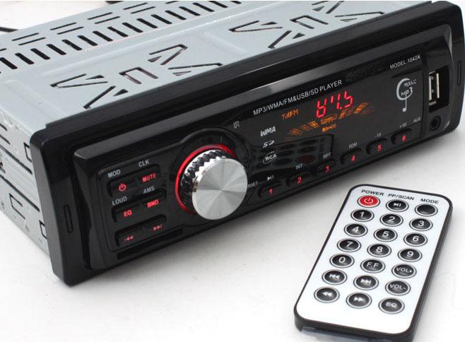 Car Radio Player MP3 FM/USB/1 Din/remote control/USB port 12V Car Audio Auto Steoro Car MP3(China (Mainland))