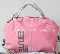 Free shipping new 2013 hot selling Pink handbag messenger bag handbag women's shell bag sports bag
