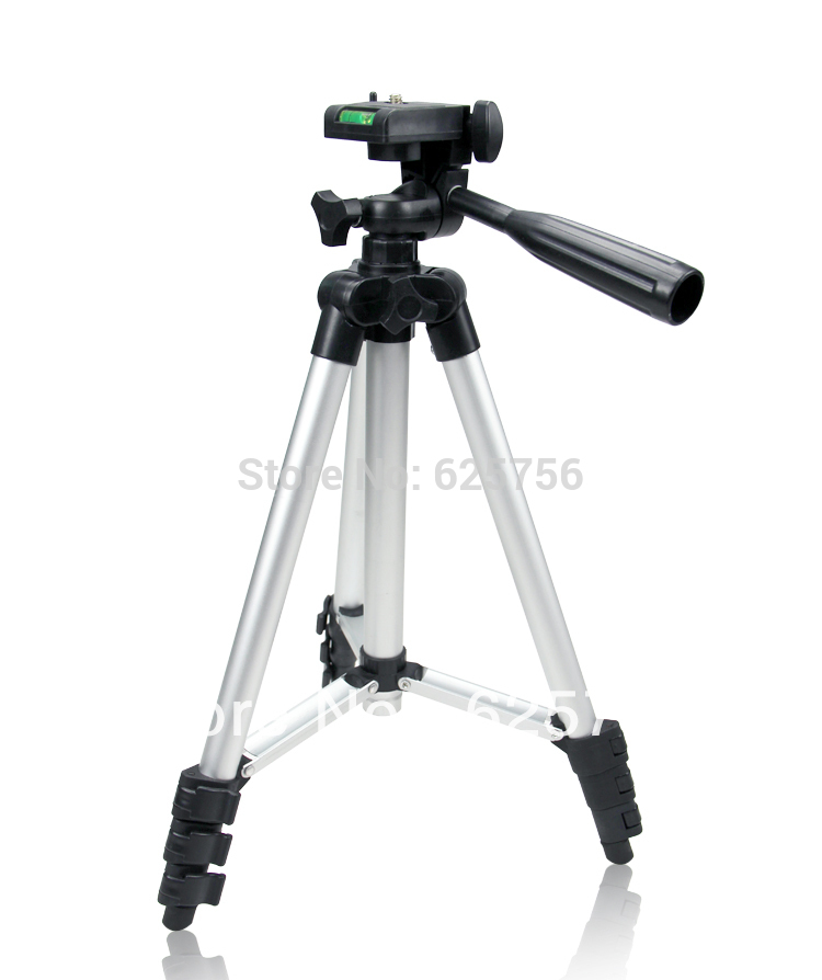 Free Shipping + Universal Hight Quality Gopro Tripod 4 Sections Portable Tripod for Canon Sony Nikon With Bag(China (Mainland))
