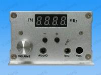1/7W FM Transmitter kits dual-mode Digital  PLL LCD Stereo Broadcast car Radio Station ,sucker atenna(one set)