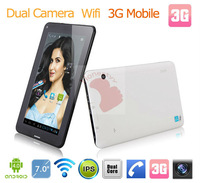 Freeshipping to Russia and Europe-- --built in 3g tablet with sim card slot/ internal 3g wcdma 850/1900 mobile phone calling pc