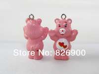 10 pcs Care Bears Pendant / Figurine / Charm  DIY Accessories ACB631