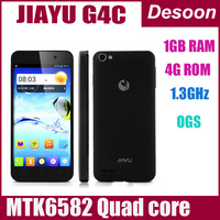 "2013-12-10in stock  Jiayu G4MTK6589T Android 4.2 Quad Core phone 1GB/4GB and 2GB/32GB 4.7"" Black &white  free shipping /vicky"