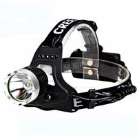Free Shipping Set Super Light Bright CREE XML T6 Cycling Bike Bicycle Riding Head Headlight Headlamp Flash Light - 1200 Lumens
