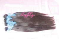 Luffly Hair Queen Hair Products Peruvian Straight 100% Human Virgin Hair 4pcs lot Grade 5A Unprocessed Hair 4pcs=4bundles
