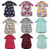 1pcs free shipping  carter's full zip fleece sleeping bag the thin cashmere baby sleeping bags