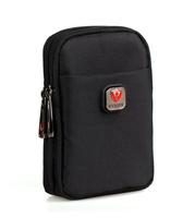 Small Black Nylon Mens Travel Bags Waist Bag Fanny Pack Belt Bag Waist Packs Belt Loops Tactical Phone Pouch Hip Purses Wallet