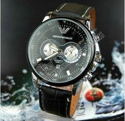 Free shipping Hongkong Post, men's quartz watch men top brand luxury wristwatches famous name the fashion designer hours SS193(China (Mainland))
