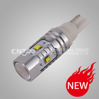 Free shipping  2pcs/lot high power 25w cree chips canbus led car light t10 w5w led auto lamp