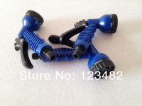 100pcs/lot  7 function water sprayer gun with connector/car washer/watering tool for home