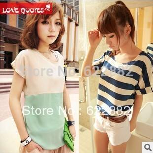 dresses new fashion 2015 women's chiffon Sleeveless blouse t shirts tops  woman plus size cute shirts casual shirt women tee