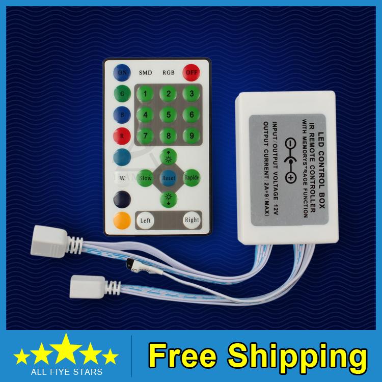 RGB контролер Ilampoo 1 x dc12/24v 25 IR Led RGB ILP-0385