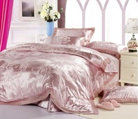 Chinese wedding bedding set queen size duvet covers hot sale coverlet sets pillowcase