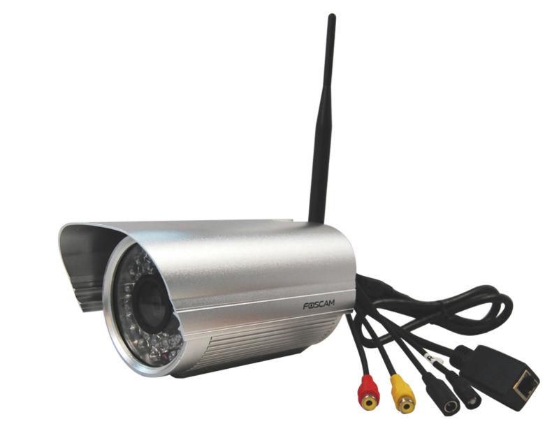 Foscam FI9805W HD 1.3 MegaPixel Outdoor Wireless IP Security Camera H.264 webcam newest !!!(China (Mainland))