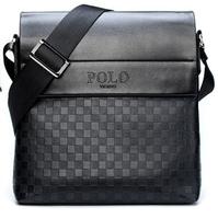 2014 new men messenger bag men's handbags briefcase real men commercial quality leather handbag Free shipping Gwg02