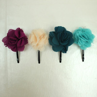 2013 Newest! 24pcs/lot Cute Baby Girl's Flower Hair Clips, Kids Hair Accessoriees, Wholesale, TS13642