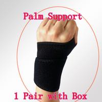 1 Pair Wrist Glove Sport Palm Wrist Support Strap Hand Elastic Wristband Adjustable High Quality Wrist Guard HW5114