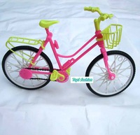 Free shipping girl birthday special gift bike accessories for barbie doll
