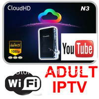 Cloud HD N3 FREE IKS Account open SKY UK,Sky Deutschland,SKY Italia,AustriaSat HD Satellite Receiver DVB-S2 Set top box