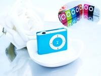 JJJ&&SS: High Quality  MINI clip MP3 Player with Micro TF/SD card Slot with mini MP3 no earphone no usb (only mp3) MMXX11 HHSS&&