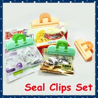 [FORREST SHOP] Free shipping kitchen tool helper sealing food bag clips 6cm 30 pieces/lot high quality retail package FRH-34